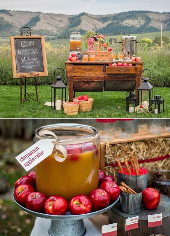 rustic-fall-apple-wedding-dessert-decor